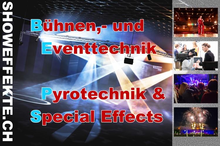 showeffekte.ch - Ihr Partner für Bühne, Film & Fernsehen