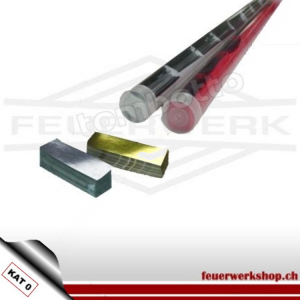 ★ Metallic Slowfall Konfetti 55 x 17mm - 135 gr. Stange ★