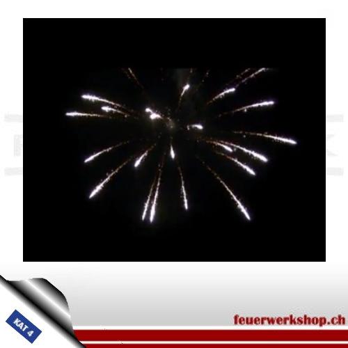 ★ Donnerweide Kugelbombe - Kal. 125mm ★  Große Weide aus fetten Crackling - Polypen