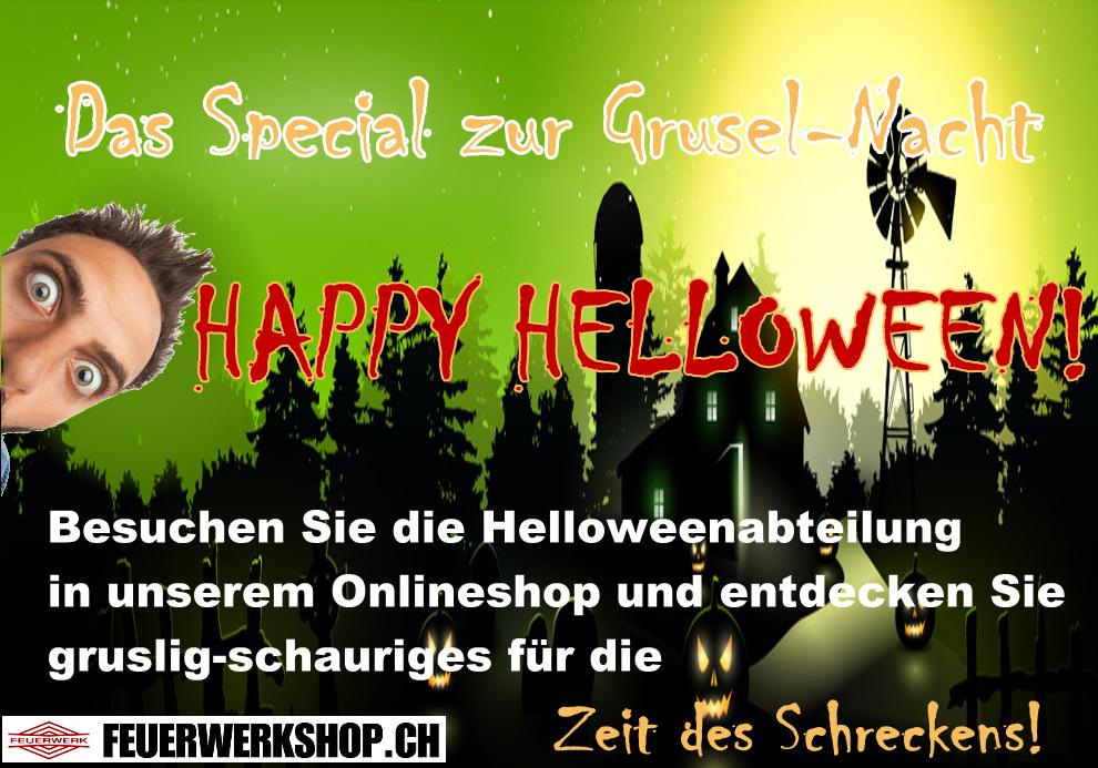 Helloween bei feuerwerkshop.ch