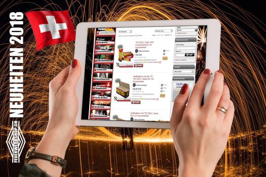 Feuerwerk Neuheiten Schweiz