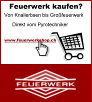 Onlineshop für Feuerwerk in der Schweiz