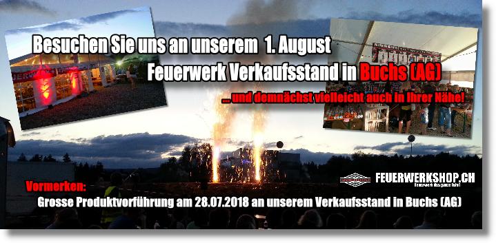 Feuerwerk Direktverkauf Schweiz