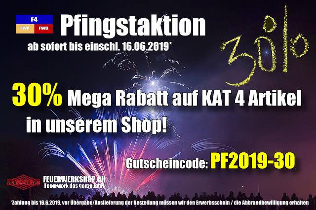 F4 Pfingsaktion - Mega Rabatt sichern!
